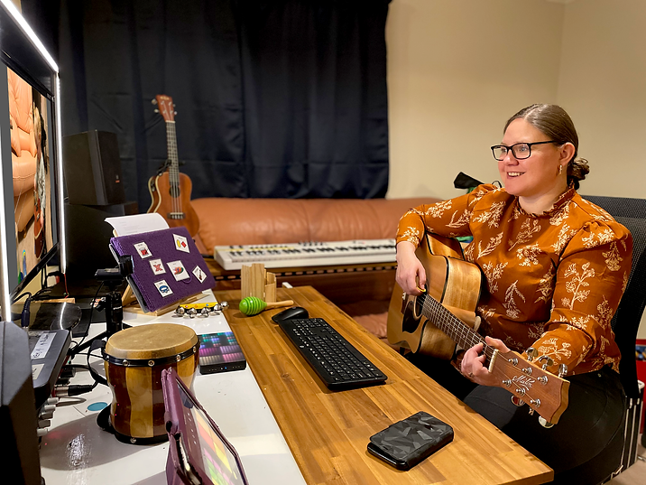 Telehealth Sessions | Music Therapy | SMT
