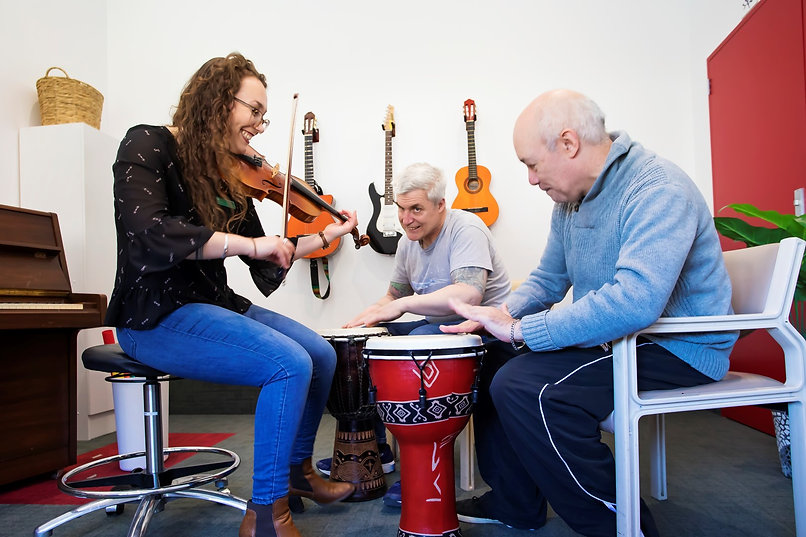 Group Work | Music Therapy | SMT