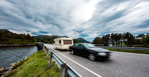 How to drive whilst towing a caravan?