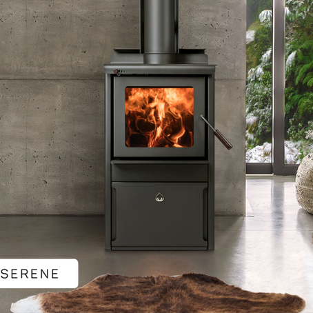 Woodsman SERENE by Harris Home Fires