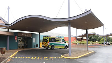 Front Entrance Mount Gambier Hospital.jf