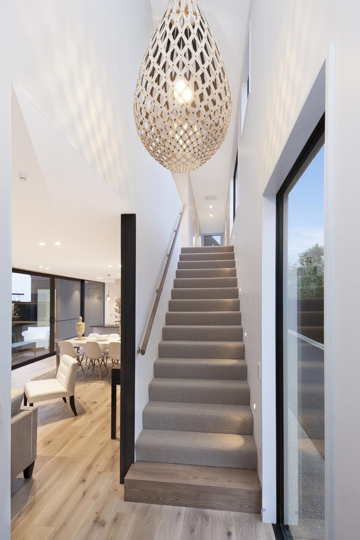 378 Durham Street - stairs view