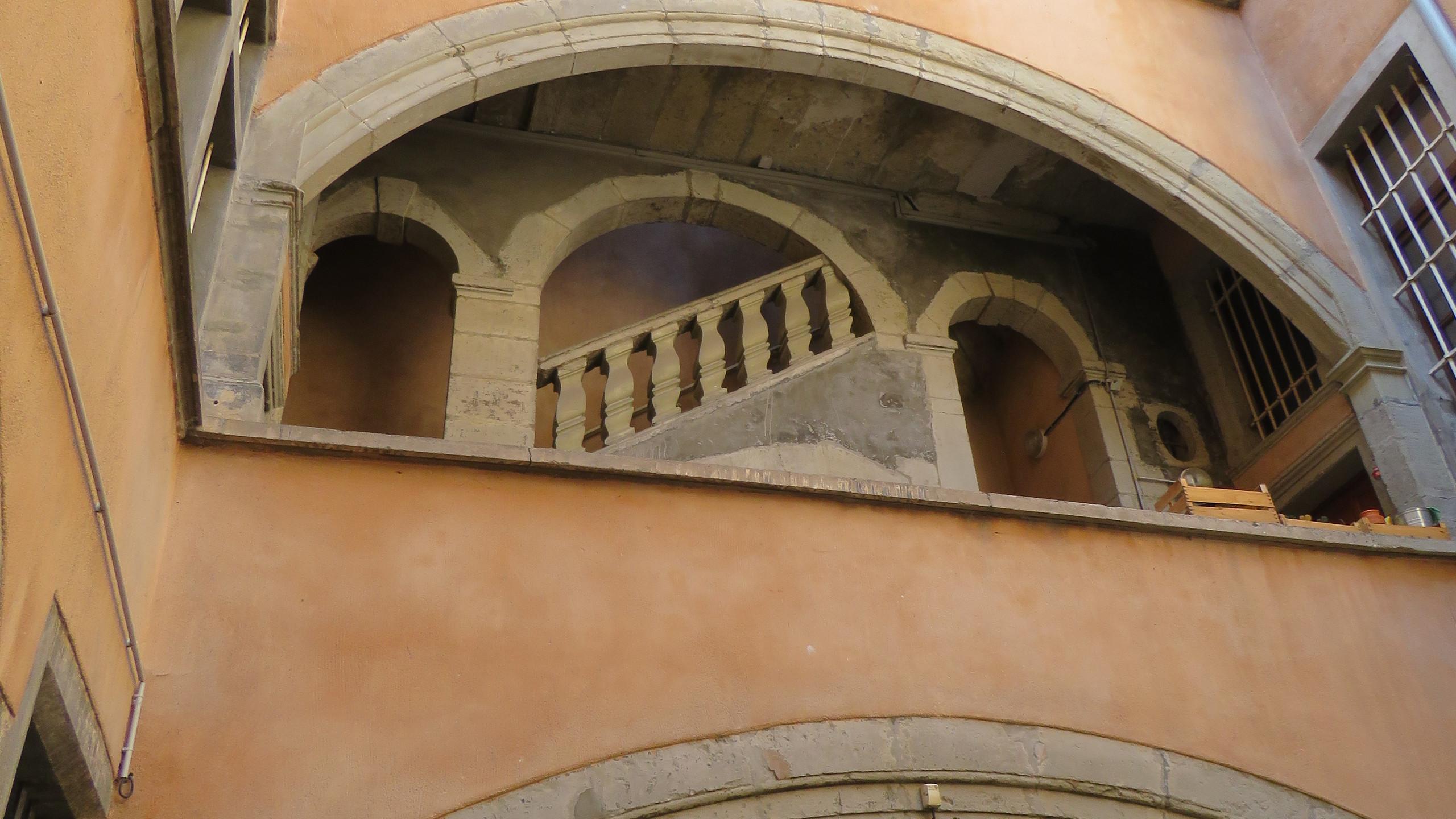 Grenoble - belsőudvar