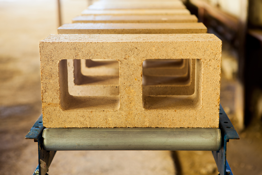 Rammed Earth Block by David Easton's Watershed Materials