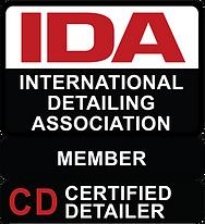 International Detailing Association Certification Badge for Aesthetic Detail Studio