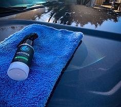 Professional automotive paint protection spray bottle for auto detailers