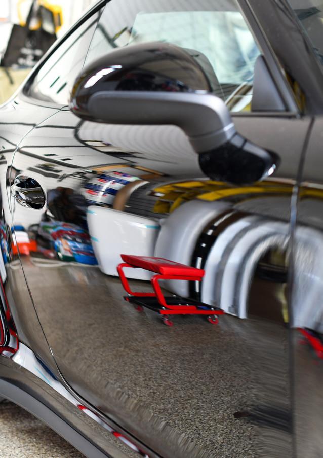 Porsche 911 Paint Correction