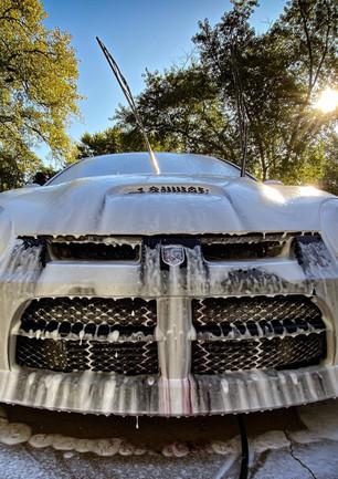 Dodge Neon SRT4 hand wash