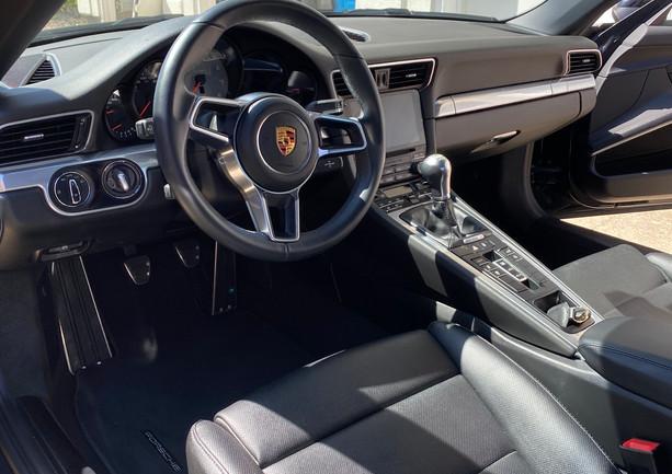 Porsche 911 interior detail