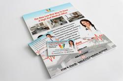 Viva MedSuites Cards and Flyer