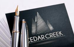 Cedar Creek Subdivision Logo