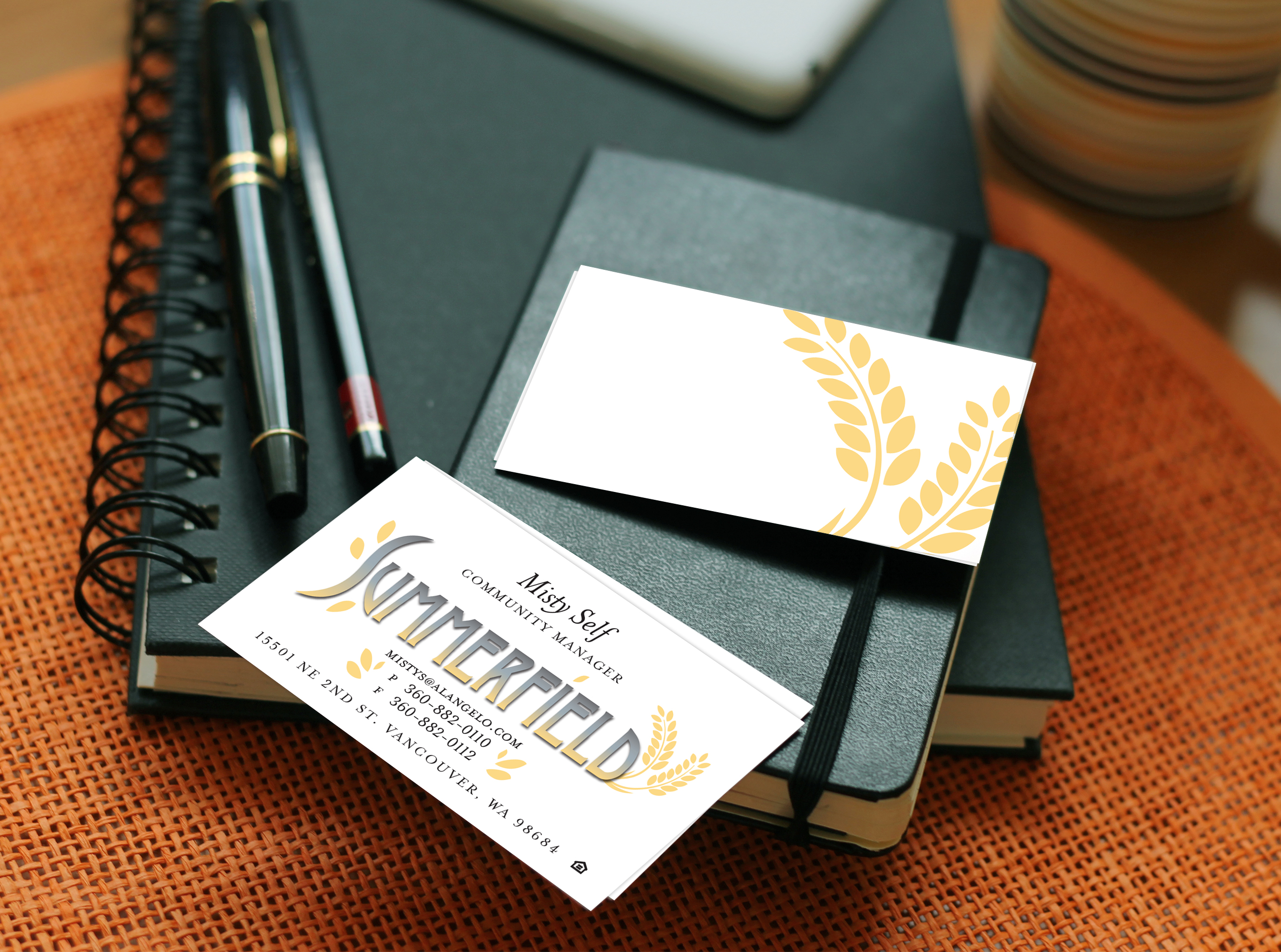 Summerfield Business Card