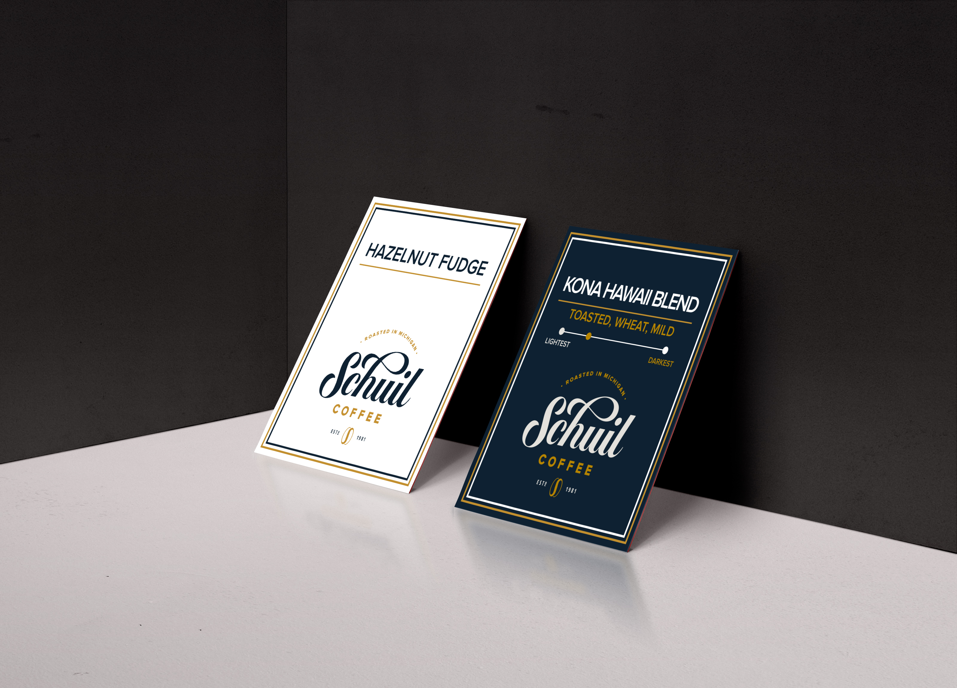 Schuil Coffee Display Card
