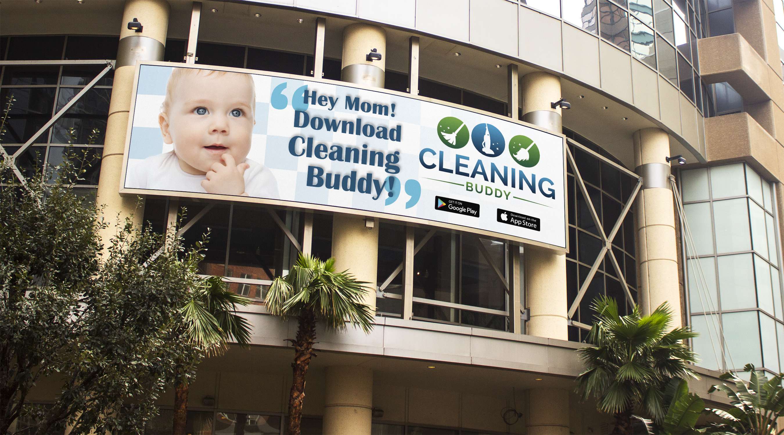 Cleaning Buddy Billboard