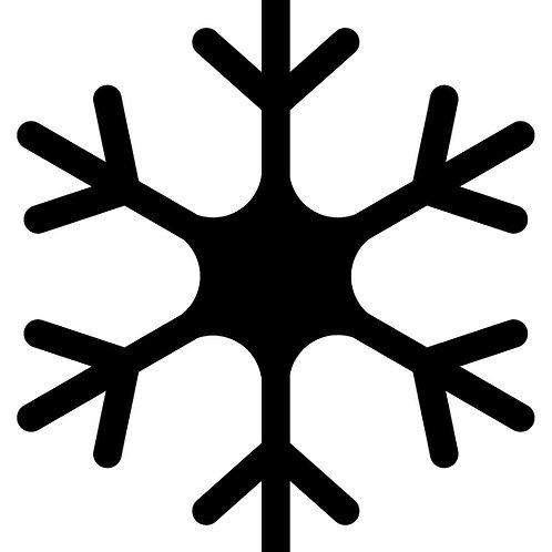Schneeflockenstempel - Datei