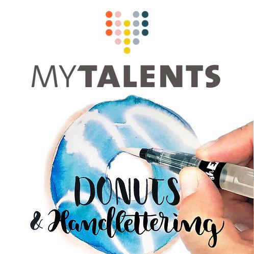 »Donuts & Start ins Handlettering« ZOOM