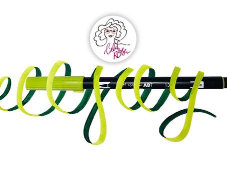 »Lieber Ribbon« Schleifenschrift