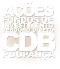 Tipos de Investimentos - CDB e RDB