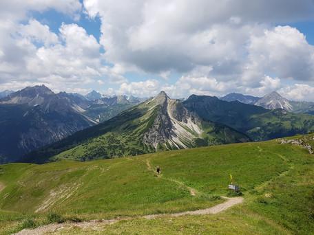 Bergtour auf den Litnisschrofen und die Krinnenspitze