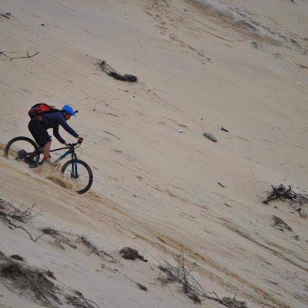 descente sur la dune du Pilat