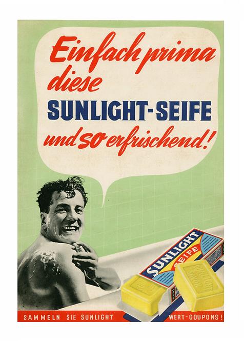 Postkarte Sunlight