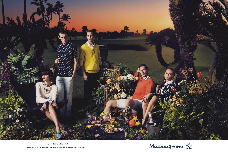 Munsingwear 広告