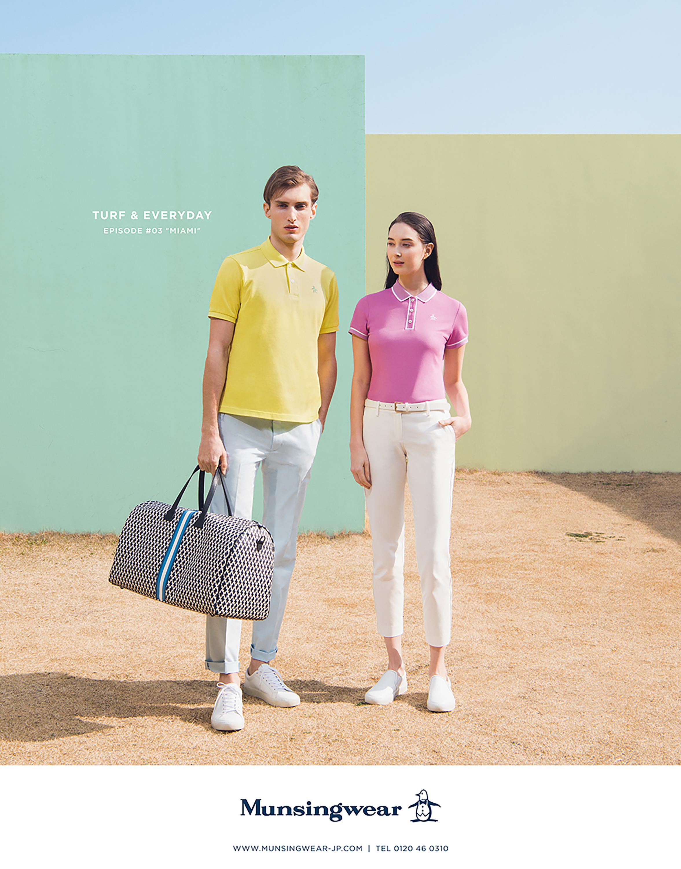 Munsingwear 2018 S/S