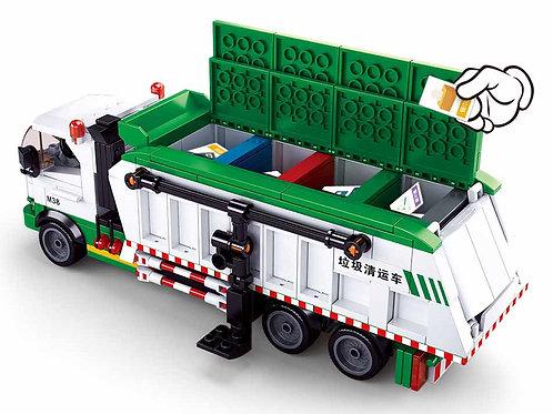 Sluban M38-B0780 Town Garbage Truck