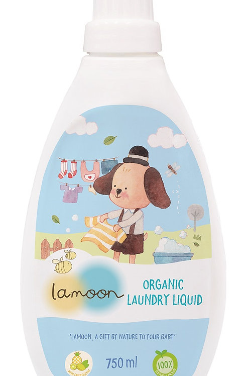 Lamoon Organic Laundry Liquid 750 ml.