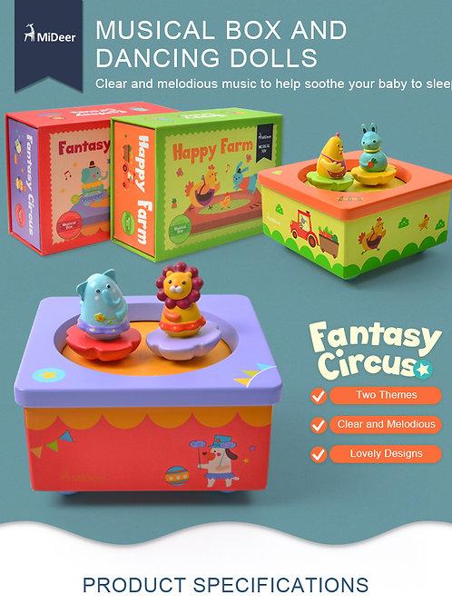 mideer Musical Box - Fantasy Circus
