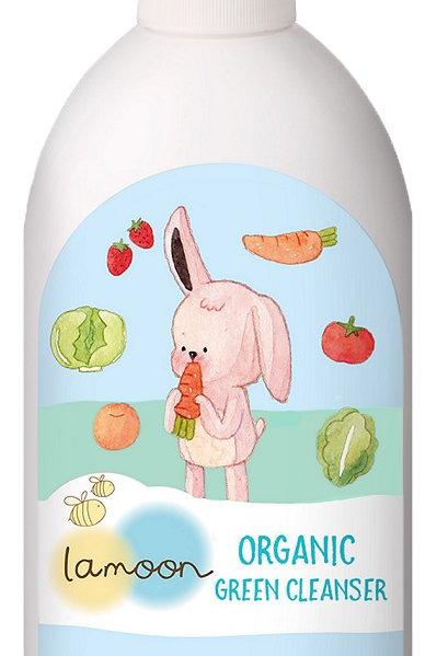 Lamoon Organic Green Cleanser 400ml