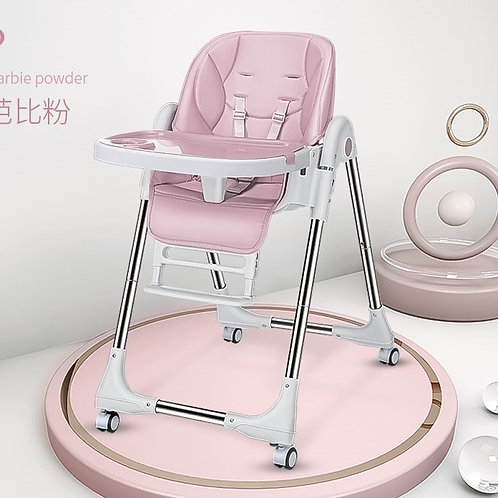 BestBaby Multi-Function Folding Plastic Portable Dining Baby High Chair