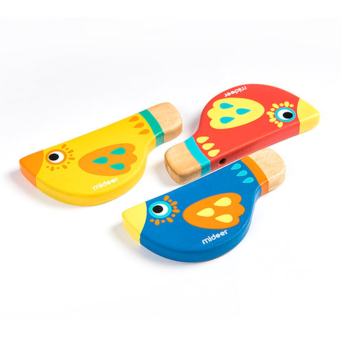 mideer Wooden Whistle - Yellow
