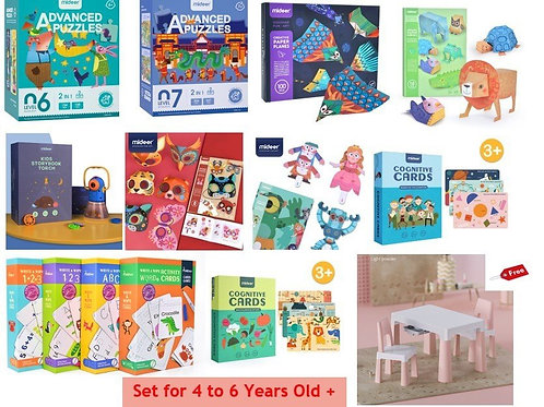 MiDeer Set for 4 to 6+ years old MDPS4601