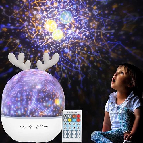 Musical Projection Lamp with Remote Control (and Bluetooth)