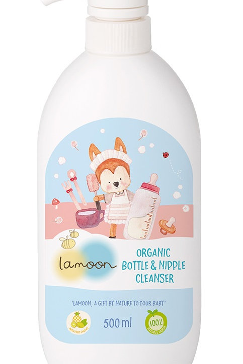 Lamoon Organic Nipple & Bottle Cleanser