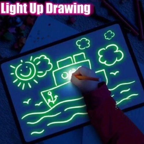 Light Drawing Board - A3 Size