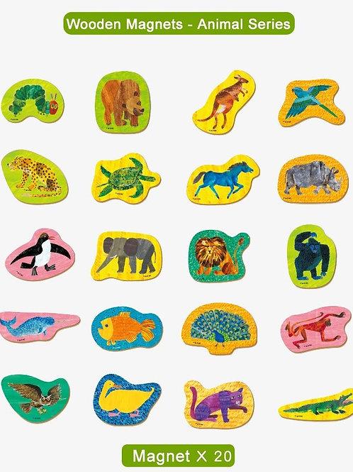 mideer Wooden Magnets - Animals