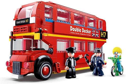 Sluban M38-B0708 Model Bricks - London Bus 382Pcs