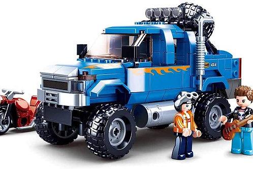 Sluban M38-B0813 Model Bricks -F350 363Pcs