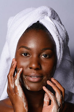 model washing her face.jpg