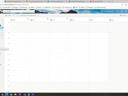 Sichern Sie sich Ihre privaten Termine, Outlook hilft Ihnen dabei!