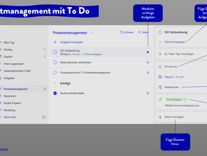 Selbstmanagement mit Microsoft To Do ☑