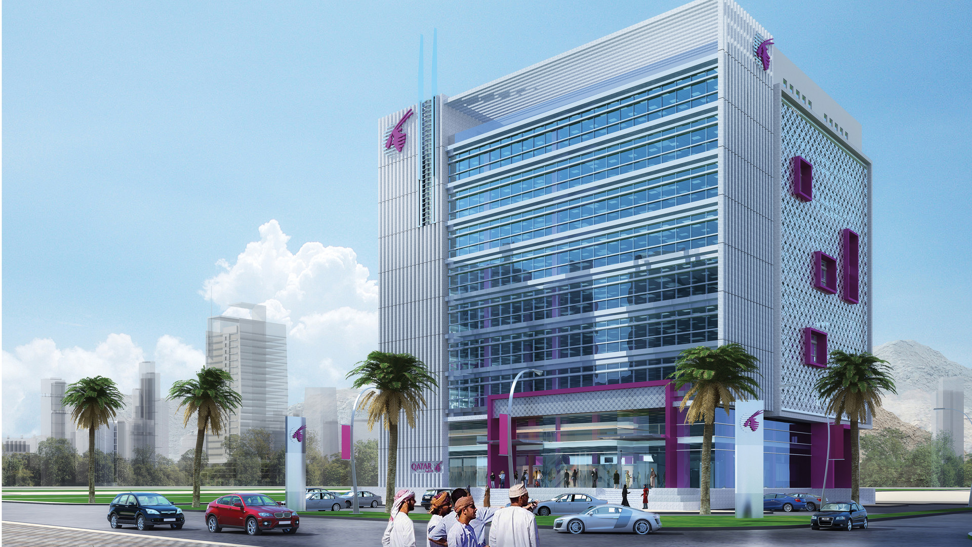 Qatar Airways Building - Muscat