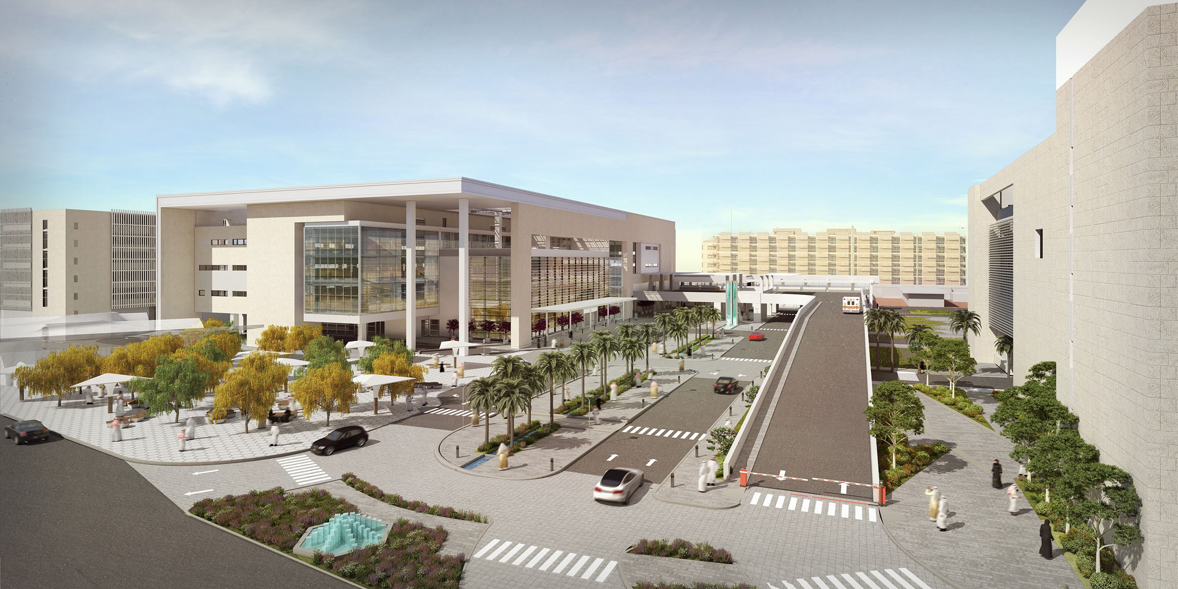 HAMAD HOSPITAL EXPANSION