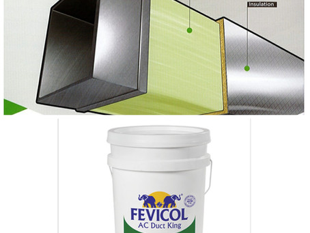 Ecofriendly green product from Fevicol - Eco Fresh –Adhesive for HVAC Insulation