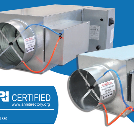 Pressure Independent VAVs manufactured by KMC in Qatar are now AHRI Certified