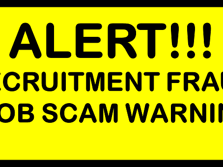 Recruitment Scam Alert