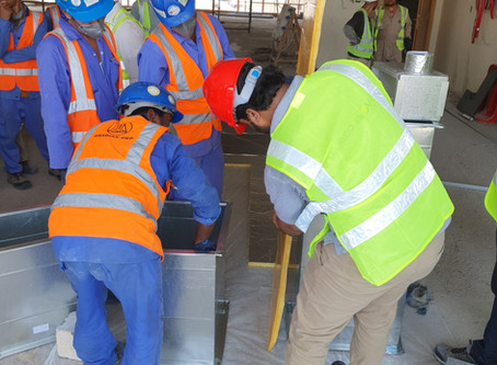 Installation Training of KIMMCO Duct Insulation plus Self Seal