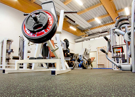 Introducing our product for Sports and fitness flooring -Vibration isolation fitness Club